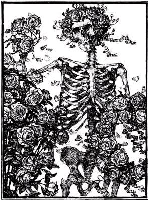 Skeleton and Roses, Illus. by Edmund Sullivan